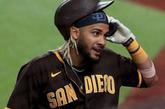 Baseball Guys, Baseball Cards, Show Runner, Mlb Games, Mookie Betts, Christian Yelich, Mike Trout, How To Apologize, San Diego Padres