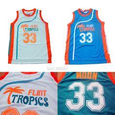 e0a119a6c Aliexpress.com   Buy Jackie Moon Flint Tropics Semi Pro Movie Basketball  Jersey