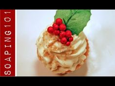 How to Make CP Soap Cupcakes {holiday designs} Cupcake Soap, Cupcake Cakes, Soap Tutorial, Soap Carving, Soap Making Supplies, Whipped Soap, Cupcakes, Goat Milk Soap, Cold Process Soap