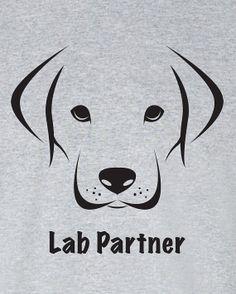 Lab Partner Funny TShirt Tee Shirt TShirt Mens Ladies by Bargoonys