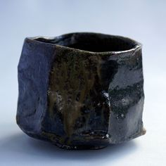 Chawan - Grès - 12 x 8 cm - 2017 Japanese Ceramics, Japanese Pottery, Ceramic Bowls, Ceramic Art, Matcha Bowl, Vases, Keramik Vase, Japanese Tea Ceremony, Wheel Thrown Pottery