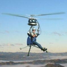 Menor helicóptero do mundo chega a 100 km/h e custa R$ 70 mil