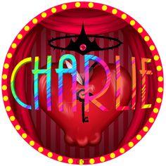 Charlie Circular Design by on DeviantArt Underground Society, Just Blinds, Cartoon Edits, Vivziepop Hazbin Hotel, Angel Dust, How To Make Buttons, Princess Of Power, Magical Creatures, Art Pictures