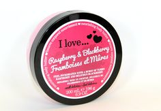 I Love Cosmetics Raspberry & Blackberry Body Butter - Review & Photos - Beautetude