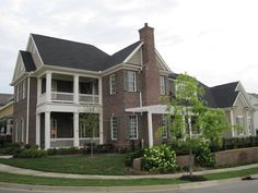 A house we built in a mixed-use neighborhood called the Northshore Town Center in Knoxville, Tennessee