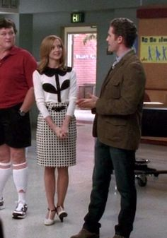 Glee - Emma in the Square Study Skirt