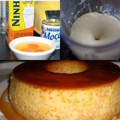 Pudim furadinho de leite condensado - Receitas da Vovó