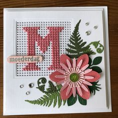 Mini Cross Stitch, Cross Stitch Cards, Cross Stitching, Cross Stitch Embroidery, Cross Stitch Patterns, Plastic Canvas Letters, Embroidery Cards, Sewing Cards, Marianne Design