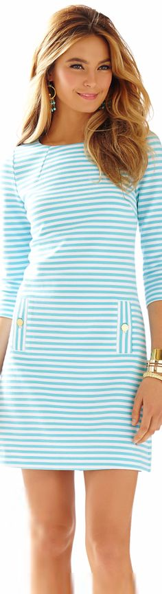 LILLY PULITZER CHARLENE KNIT SHIFT DRESS   House of Beccaria~