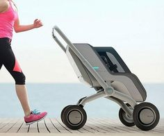 Agiliza el cuidado de tu bebe con este increíble cochecito inteligente. Este original producto viene con un motor eléctrico que lo impulsa y balancea de manera automática.