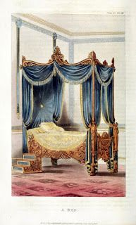 Grecian style bed 1828