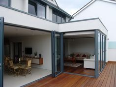 Back Deck, Extension Ideas, Types Of Doors, Back Doors, Conservatory, Extensions, Garage Doors, Windows, Traditional