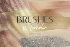 Gold Watercolor, Watercolor Brushes, Watercolor Texture, Brush Stroke Png, Brush Strokes, Graphic Projects, Graphic Design Tips, Texture Packs, Texture Design