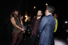Henry Cavill at CinemaCon with Jason Momoa, Ben Affleck in Las Vegas 29th March 2017