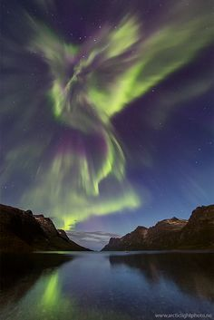 Photo by Ole C. Salomonsen This shot was shot last night sept.5th, at a location called Ersfjord, just a 20min drive outside of Tromsø, Northern Norway. I have seen a few auroras in my life, and I have been to this location a few times, but this was just sick!! I am out of words! I think all I can say is WOW! If this is what the coming years has to offer when our sun is heading into Solar Maximum, then we surely has something to look forward to.
