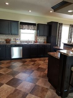 Replacing the single pantry with double wall ovens, cherry instead of espresso cabinets. Espresso Cabinets, Wall Ovens, Pantry, Cherry, Kitchen, Building, Home Decor, Pantry Room, Butler Pantry