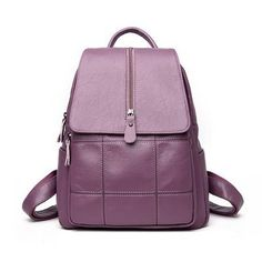 Women Genuine Leather Backpack School Bags For Teenagers Girl S Travel Bag  Designer High Quality Sheepskin Backpacks 93b6c5c3111