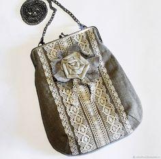 17443d95f2c8 Женские сумки ручной работы. Ярмарка Мастеров - ручная работа. Купить Сумка  с фермуаром