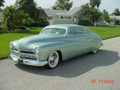 love the color on this 1949 Mercury