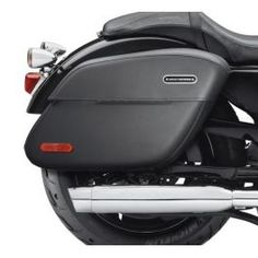 Sportster Rigid Leather Locking Saddlebags LCS90201321 - LCS Trading, LLC