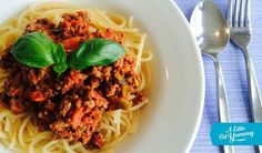 Low FODMAP Spaghetti Bolognese