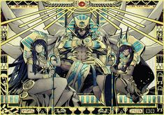 Ramsés ll/Ozymandias/Rider Nitocris/Caster Cleopatra/Assassin Fate Grand Order Ramses, Character Art, Character Design, Fate Servants, Fate Anime Series, Shall We Date, Fate Zero, Animes Wallpapers, Fantasy