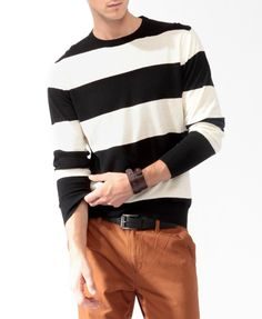 Rugby Striped Sweater | Be Mine?