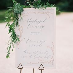 This couple took a simple approach to wedding design, and decorated their spaces with lush greenery and wood accents. Go inside their intimate, elegant destination wedding in the French countryside, and get inspired by all of their lovely details. Wedding Vendors, Wedding Signs, Wedding Hair, Wedding Decor, Wedding Stuff, Wedding Planner, Destination Wedding, Ceremony Signs, Flower Company