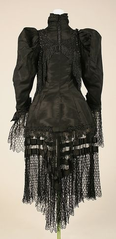 Coat Emile Pingat  (French, active 1860–96)  Date: 1860–96 Culture: French Medium: silk. Back