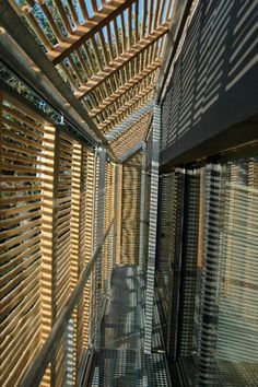 Bamboo Screens Shade Stunning French Passivhaus : TreeHugger
