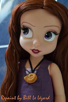 Vanessa Animator Repaint OOAK Custo Doll Disney Little Mermaid | Flickr - Photo Sharing!