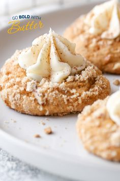 These Cream Cheese Streusel Thumbkins include all the flavors of the season. A soft, pumpkin spice drop cookie is coated in a nutty pecan streusel and filled with a buttery cream cheese filling. Holiday Cookie Recipes, Holiday Desserts, Holiday Cookies, Holiday Baking, Christmas Baking, Gourmet Cookies, Cookie Desserts, Just Desserts, Delicious Desserts