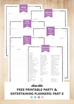 FREE PRINTABLE PARTY