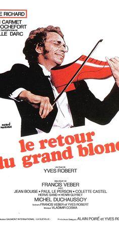 The Return of the Tall Blond Man Le retour du grand blond (original title) Michel Duchaussoy, Jean Bouise, Yves Robert, Colette, Blonde Guys, Herve, Paradis, Irons, Films