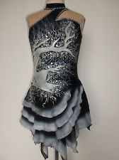 NEW ICE SKATING TWIRLING BATON DRESS ADULT L