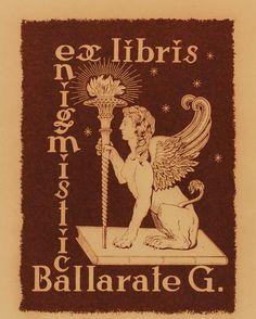 Art-exlibris.net - ex libris di G. Ballarate per G Ballarate