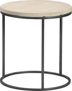 grind sandstone side table | CB2