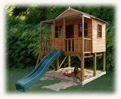 Olivia's New Cubby House Idea