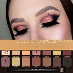 ABH Soft Glam Palette Makeup Tutorial #abh #abhcosmetics #abhsoftglam #softglam #palette #makeup #tutorial #stepbystep #makeuptutorials #subculture #modernrenaissance
