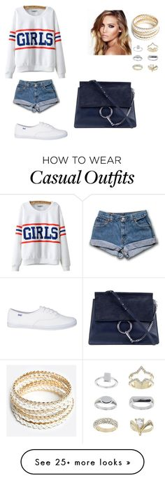 """""""❤ Casual ?! ❤"""" by heleencarlaa on Polyvore featuring Chicnova Fashion, Charlotte Tilbury, ZooShoo, Chloé and Topshop"""