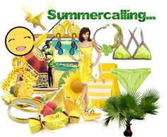 """summercall"" by eminav on Polyvore"