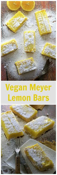 Yes, we  have these awesome Vegan Meyer Lemon Bars for you today but... could you help us out with an issue we're dealing with?