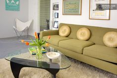 Very Vintage Vegas Mid Century Mod! in Las Vegas Las Vegas Living, Bryn Mawr, Perfect Place, Mid-century Modern, Condo, Mid Century, Sofa, Guest Rooms, Vacation