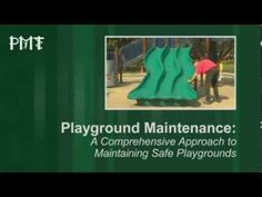 Playground Maintenance Certificate Program hosted by the US Play Coalition.  The PMT program is an affordable, entry-level program to provide the knowledge required to perform regular inspections of play spaces. Check it out!