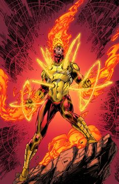 Firestorm - Brett Booth, Colors: Timothy Brown