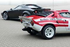 New Lancia Stratos - Autoblog Japan Lancia Delta, Ferrari F430, Maserati, Auto Motor Sport, Motor Car, Fiat Sport, Super Images, Rally Car, Car Show