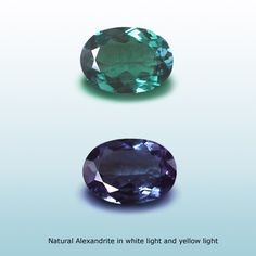 natural alexandrite gemstone  The ideal color change in an alexandrite gemstone (which is extremely rare and unique) would be emerald green to purple-red. This effect can work wonders on an alexandrite ring, an alexandrite earring, an alexandrite necklace or any other kind of alexandrite jewelry since the colors of this stone can be extremely mesmerizing.