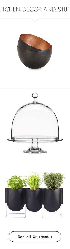 """KITCHEN DECOR AND STUFF"" by neide-goncalvesbrito on Polyvore featuring home, kitchen & dining, serveware, tom dixon, tom dixon bowl, kitchen, casa, dinnerware, filler et clear"