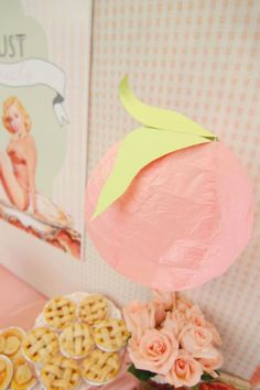 Peaches And Pin Ups Pinups 80th Birthday Party Planning Ideas