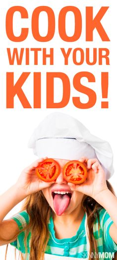 Teaching children to cook can be fun!